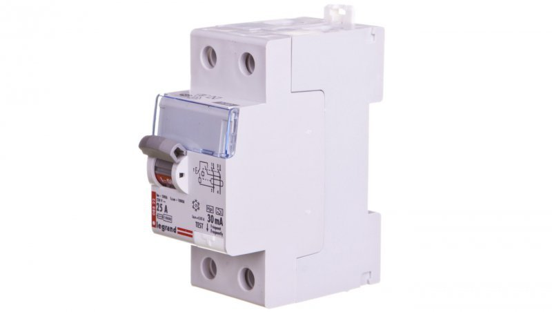 Wyłącznik różnicowoprądowy 2P 25A 0,03A typ HPI P302 DX3 411590