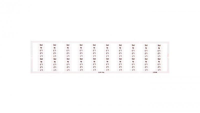 Oznaczniki WMB L1 L2 L3 N 794-4672 /5szt./