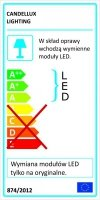 FLORAL PLAFON 30 1X10W LED 3000K FIOLET