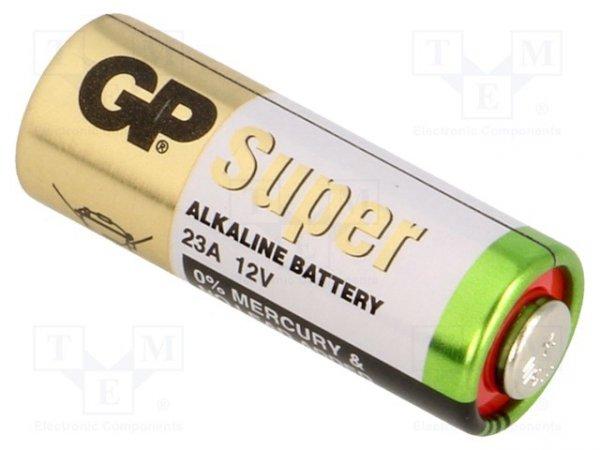 Bateria: alkaliczna; 12V; 23A,8LR932; Ø10x28mm; nieładowalna