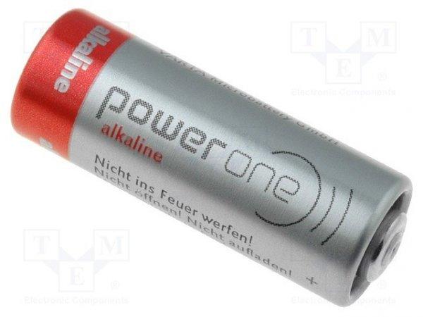 Bateria: alkaliczna; 12V; 23A,8LR932; Power One; Ø10x29mm; 50mAh