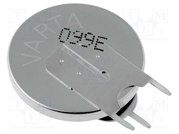 Bateria: litowa; 3V; CR2450,pastylkowa; Ø24,7x5mm; 560mAh