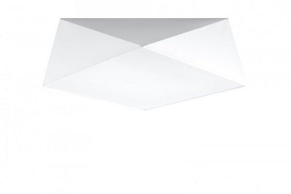 Plafon HEXA 45 biały