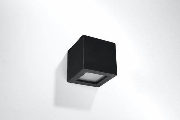 Kinkiet ceramiczny LEO czarny