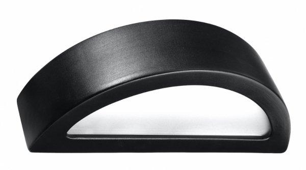 Kinkiet ceramiczny ATENA czarny