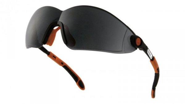 Okularyz poliwęglanupomarańczowo-czarneUV400VULC2NOFU