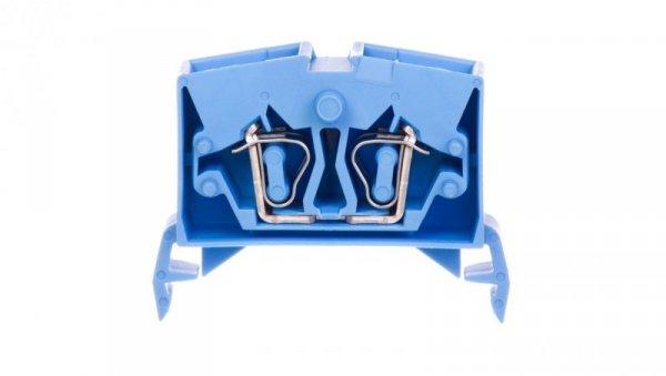 Złączka szynowa 4-przewodowa 2,5mm2 niebieska 264-734