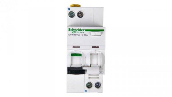 Wyłącznik różnicowo-nadprądowy 2P 10A B 0,03A typ AC iDPN N VIGI A9D55610
