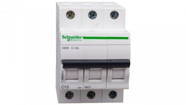 Wyłącznik nadprądowy 3P C 10A 6kA AC K60N A9K02310