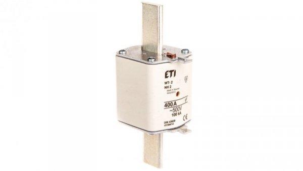 Wkładka bezpiecznikowa NH2 400A gF 500V WT-2 004139414