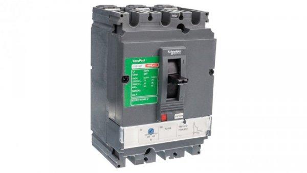 Wyłącznik mocy 160A 3P 36kA EasyPact CVS160 TM160D LV516333