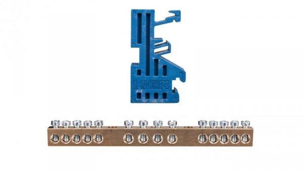 Zacisk ochronny na szynę MZO-TS 14/6 R33RA-01010104100