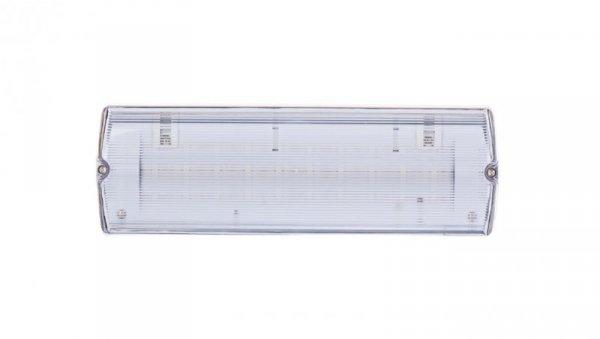 Oprawa awaryjna LED 1W 3h IP65 Ikl. jednostronna dwuzadaniowa ECONOMIC LED PT +PU33 ECL/1W/C/3/SA/PT/CL