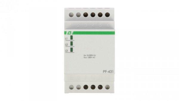 Automatyczny przełącznik faz 16A 3x230V+N PF-431