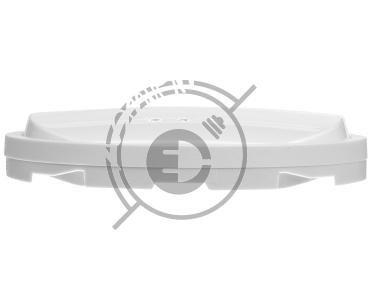 CELIANE Klawisz podwójny łącznika z podświetleniem biały 068004