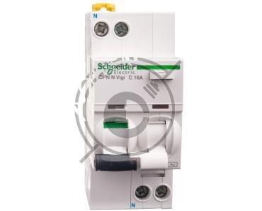 Wyłącznik różnicowo-nadprądowy 2P 16A C 0,03A typ AC iDPN N VIGI A9D31616