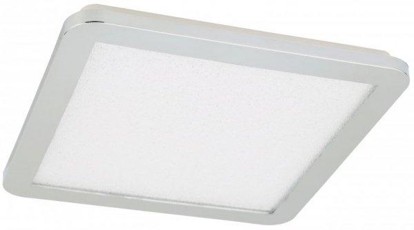 NEXIT PLAFON 30X30 18W LED IP44 CHROM+GRANILA 3000K