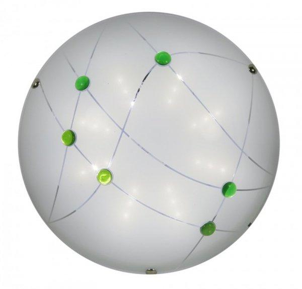 DUCA PLAFON 30 1X10W LED 6500K ZIELONY
