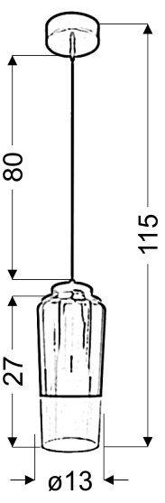 TUBE ZWIS 13 1X60W E27 FIOLETOWY