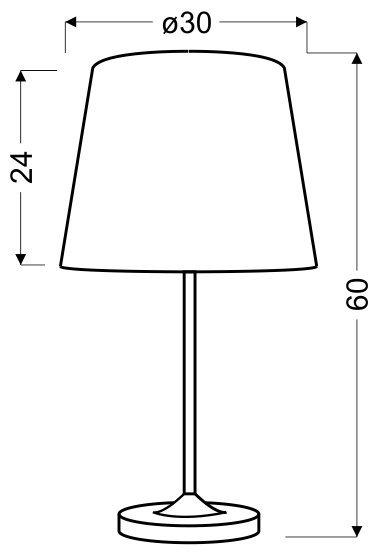SEGIN LAMPKA 1X60W E27