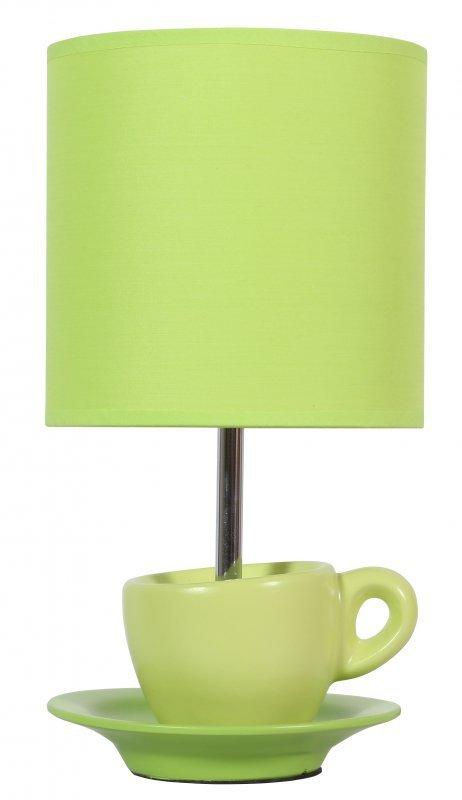 CYNKA LAMPKA GABINETOWA 1X60W E27 PISTACJOWY