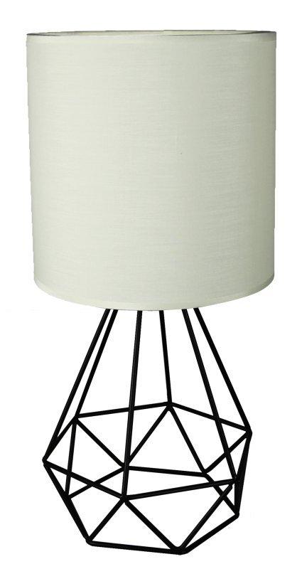 GRAF LAMPKA GABINETOWA 1X60W E27 KREMOWY
