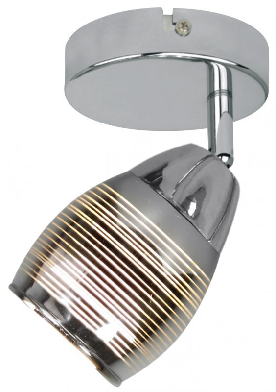 MILTON KINKIET 1X10W E14 LED CHROM
