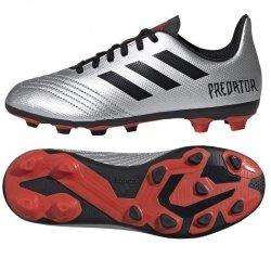 Buty adidas Predator 19.4 FxG J G25822 szary 28