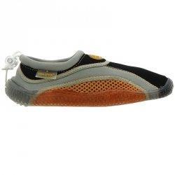 Buty plażowe neoprenowe dziecięce pomarańczowy 28
