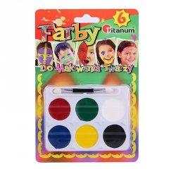 Farbki do twarzy POLSKA 6 kolorów