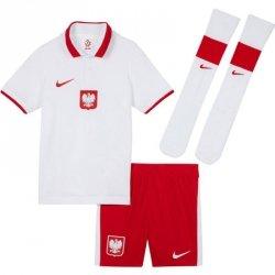 Komplet Nike Poland LK Brt Kit Home CV0569 100 biały XL 122-128 cm