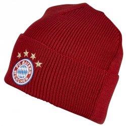 Czapka adidas FC Bayern Woolie FS0192 czerwony OSFM