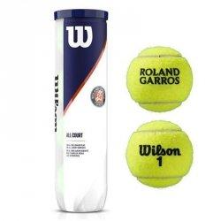 Piłka tenisowa Wilson Roland Garos All Court 4 żółty