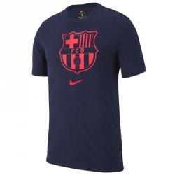 Koszulka Nike FC Barcelona CD3199 492 S (128-137cm) niebieski