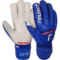 Rękawice bramkarskie Reusch Attrakt Grip Finger Support Junior 51 72 810 4011 niebieski 6