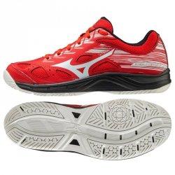 Buty do piłki ręcznej Mizuno STEALTH STAR JR X1GC210763 36 1/2 czerwony