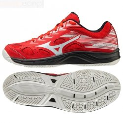 Buty do piłki ręcznej Mizuno STEALTH STAR JR X1GC210763 38 1/2 czerwony