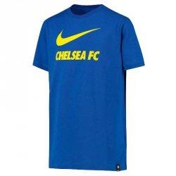 Koszulka Nike Chelsea FC Big Kids' Soccer T-Shirt CW4083 480 S (128-137cm) niebieski