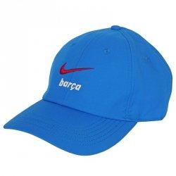 Czapka Nike FC Barcelona Heritage86 Kids' Hat DH2407 427 niebieski one size