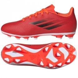 Buty adidas X Speedflow.4 FxG J FY3319 czerwony 36 2/3