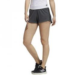 Spodenki adidas Pacer 3 Stripe Knit Short GC7832 XS grafitowy