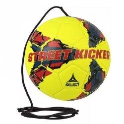 Piłka Select Street Kicker z gumką żółty 4