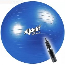 Piłka gimnastyczna 55 cm Allright 151-165 cm Ø