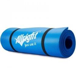 Mata do fitnessu NBR 180x60x1,5 Blue niebieski 180x60cm