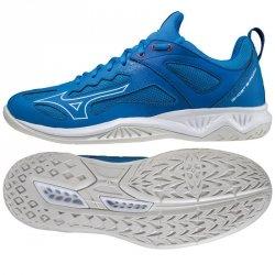 Buty do piłki ręcznej Mizuno GHOST SHADOW X1GA218024 45 niebieski