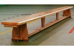 Ławka gimnastyczna 2,0  m drewniane nogi 200x22x30