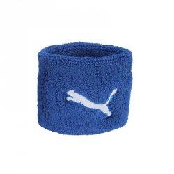 Opaski na nadgarstek Puma niebieskie one size niebieski