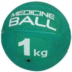Piłka lekarska gumowa 1 kg zielony