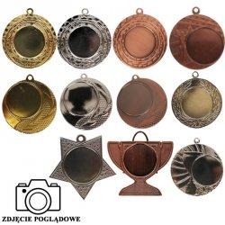 Medal mały 4cm na wklejkę 25 mm mały złoty /srebrny /brązowy