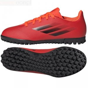 Buty adidas X Speedflow.4 TF J FY3327 czerwony 38 2/3